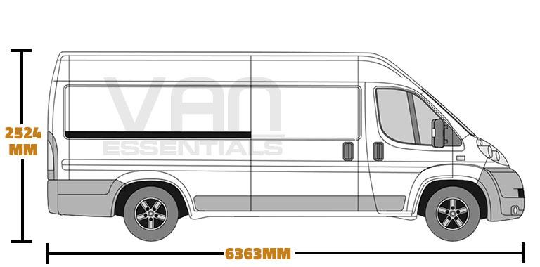Extra Long Wheel Base (L4) , High Roof (H2)
