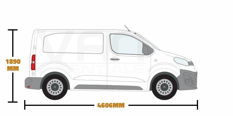 Compact, Short Wheel Base (L1) , Low Roof (H1)