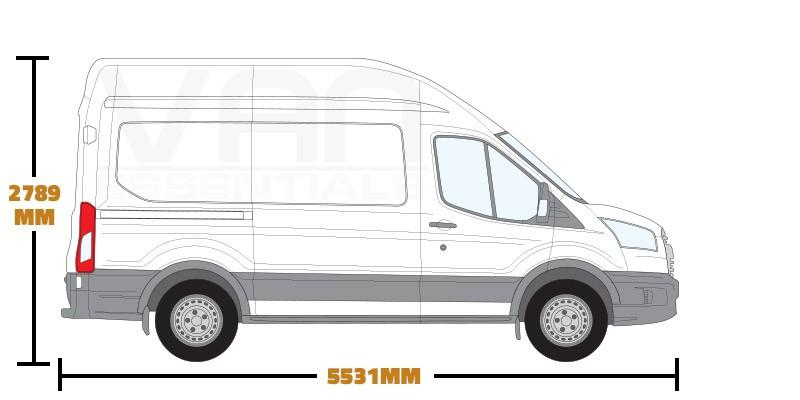 Medium Wheel Base (L2) , High Roof (H3)