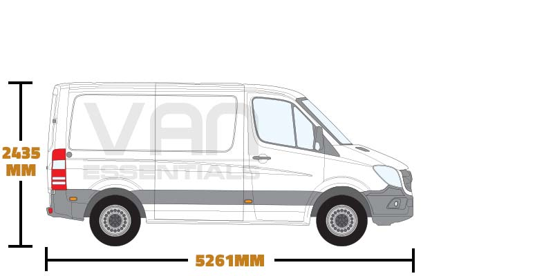Short Wheel Base (L1) , Low Roof (H1)