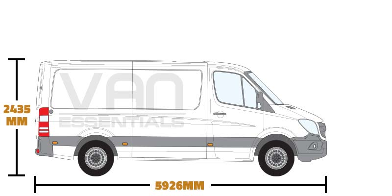Medium Wheel Base (L2) , Low Roof (H1)