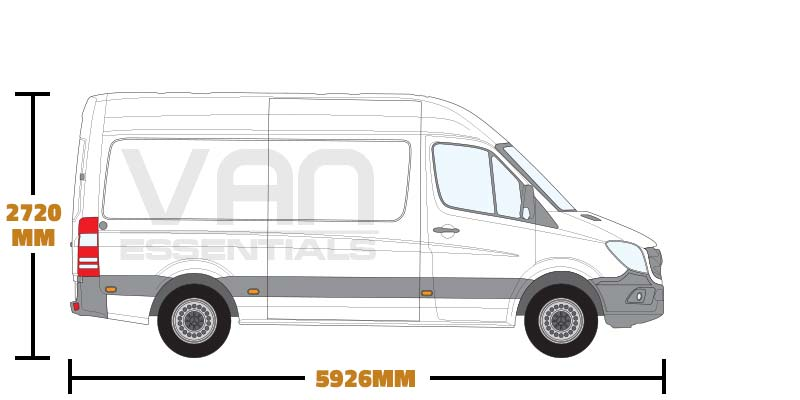 Medium Wheel Base (L2) , High Roof (H2)