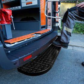 Volkswagen Crafter Rear Step - 2017 Onwards- Hubb Systems Assured Rear Step