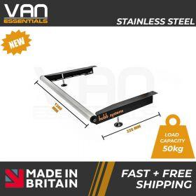 Ford Transit 2000-2014 - With Twin Rear Doors- Vecta Stainless Steel Roller