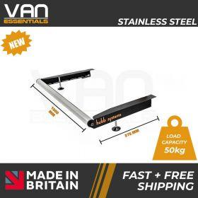 Vauxhall Vivaro 2014 – July 2019 High Roof H2 - With Twin Rear Doors - Vecta Stainless Steel Roller