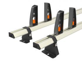 Nissan NV250 L1 Roof Rack 2020 On-2x Roof Bars Vecta Bars by Hubb