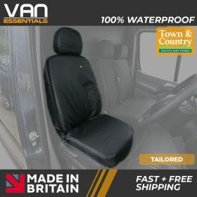 Driver or Single Passenger Tailored Seat Cover - Volkswagen Crafter 2010 - 2017 - The Original Town & Country Seat Cover.