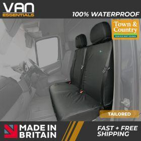 Passenger Double Tailored Seat Cover - Volkswagen Crafter 2010 - 2017 - The Original Town & Country Seat Cover.