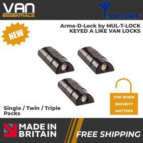 Van Door Locks-Arma-D-Lock High Security Van Door Lock for when security matters from Mul-T-Lock