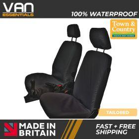 Transit Connect Seat Cover-Driver & Passenger Seat- 2002 up to 2013-The Original Town & Country Seat Cover.