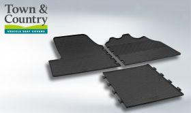 Front Rubber Mats - Citroen Relay 2014 Onwards - Town & Country Tailored Fit Rubber Mats