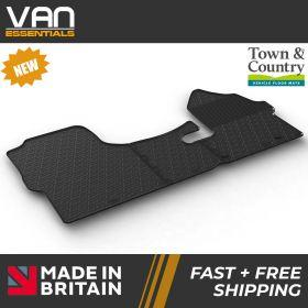 Pair of Front Rubber Mats - Mercedes Sprinter 2019 Onwards - Town & Country Tailored Fit Rubber Mats